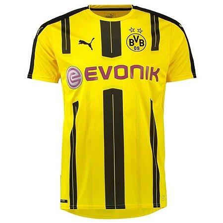 Camisa oficial Puma Borussia Dortmund 2016 2017 I jogador