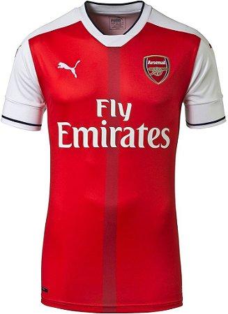 Camisa oficial Puma Arsenal 2016 2017 I jogador