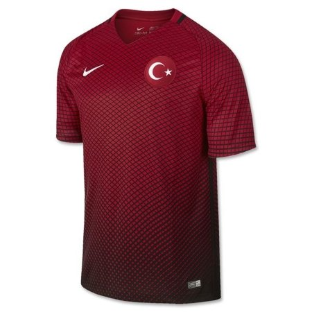 Camisa oficial Nike Seleção da Turquia Euro 2016 I jogador