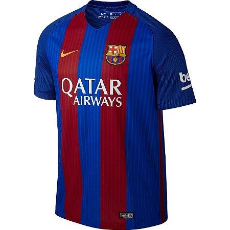 Camisa oficial Nike Barcelona 2016 2017 I jogador