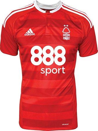 Camisa oficial Adidas Nottingham Forest 2016 2017 I jogador