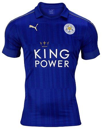 Camisa oficial Puma Leicester City 2016 2017 I jogador
