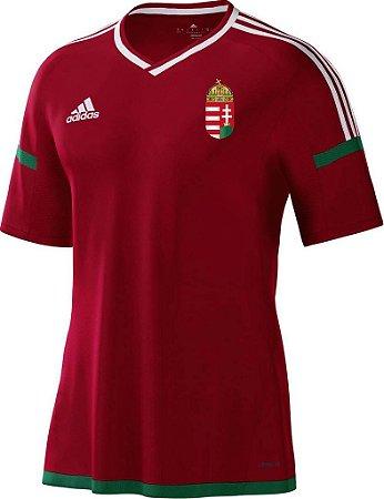 Camisa oficial adidas seleção da Hungria Euro 2016 I jogador