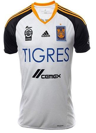 Camisa oficial Adidas Tigres UANL 2016 III jogador