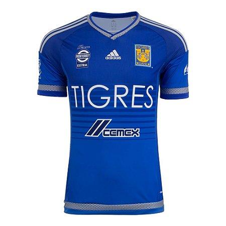 Camisa oficial Adidas Tigres UANL 2016 II jogador