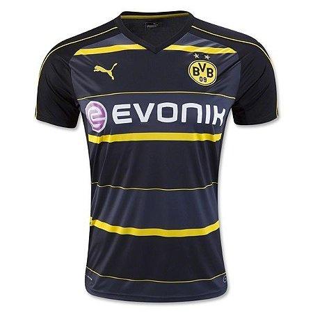 Camisa oficial Puma Borussia Dortmund 2016 2017 II jogador