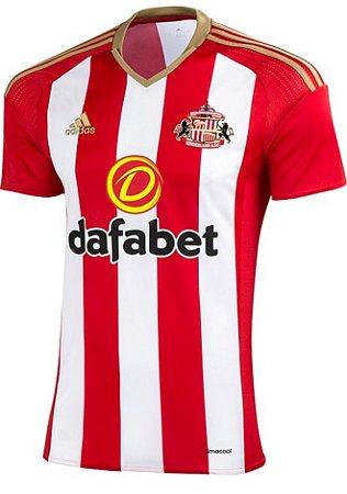 Camisa oficial Adidas Sunderland 2016 2017 I jogador