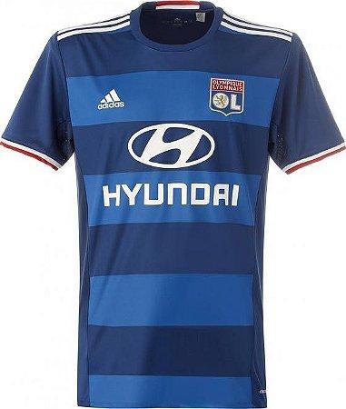 Camisa oficial Adidas Lyon 2016 2017 II jogador