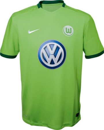 Camisa oficial Nike Wolfsburg 2016 2017 I jogador