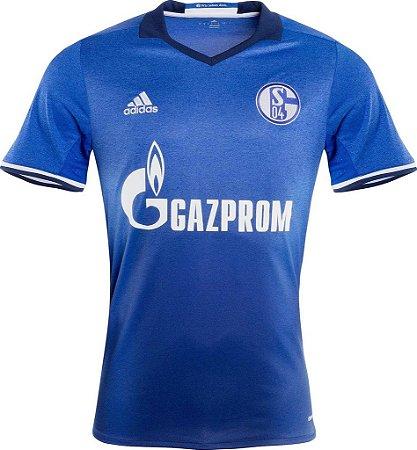 Camisa oficial Adidas Schalke 04 2016 2017 I jogador