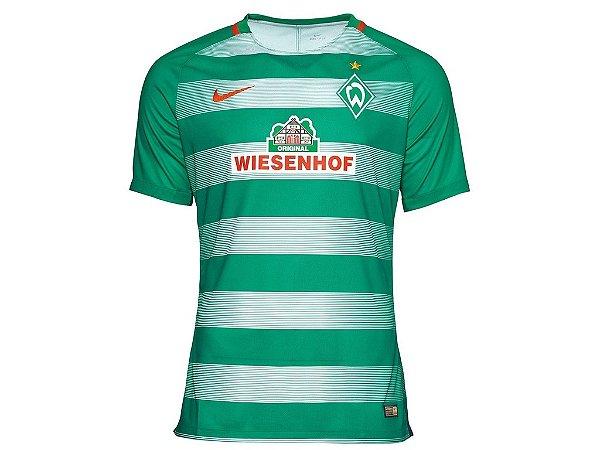 Camisa oficial Nike werden bremen 2016 2017 I jogador