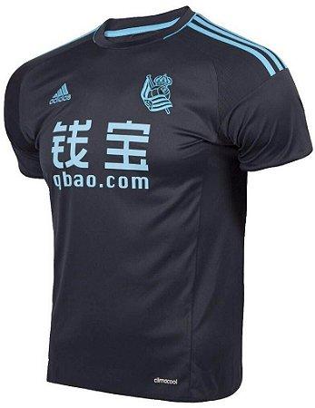Camisa oficial adidas Real Sociedad 2016 2017 II jogador
