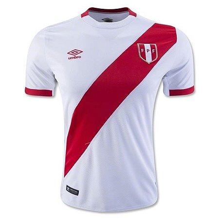 Camisa oficial Umbro seleção do Peru 2016 I jogador Copa América