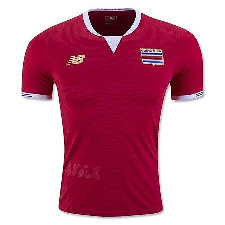 Camisa oficial New Balance seleção da Costa Rica 2016  I jogador Copa America