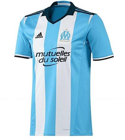Camisa oficial adidas Olympique de Marseille 2016 2017 III jogador