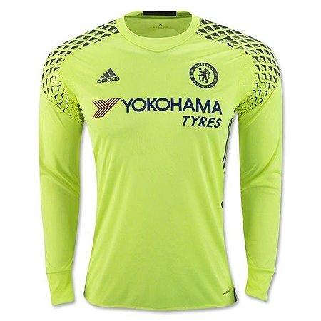 Camisa oficial Adidas Chelsea 2016 2017 goleiro