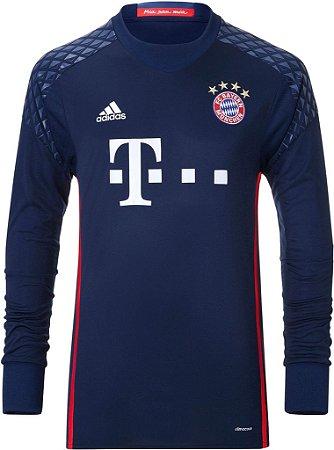 Camisa oficial Adidas Bayern de Munique 2016 2017 I Goleiro