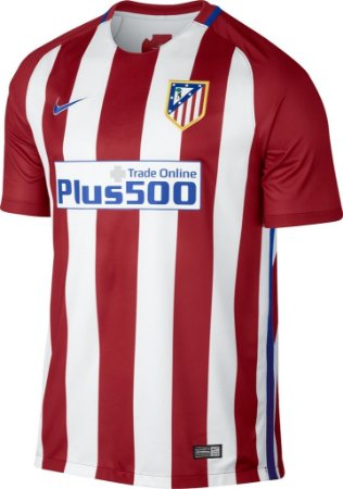 Camisa oficial Nike Atletico de Madrid 2016 2017 I jogador