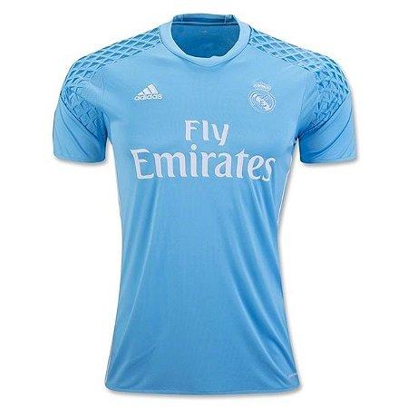 Camisa oficial Adidas Real Madrid 2016 2017 I Goleiro