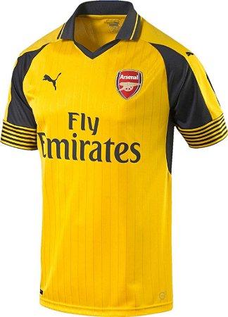 Camisa oficial Puma Arsenal 2016 2017 II jogador