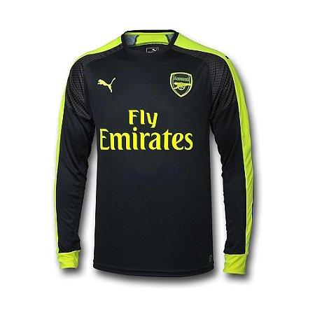 Camisa oficial Puma Arsenal 2016 2017 III jogador manga comprida