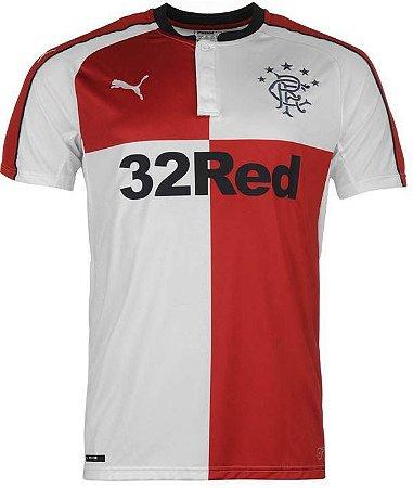 Camisa oficial Puma Glasgow Rangers 2016 2017 II jogador