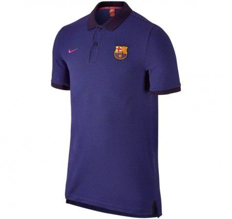 Camisa Polo oficial Nike  Barcelona 2016 2017 azul