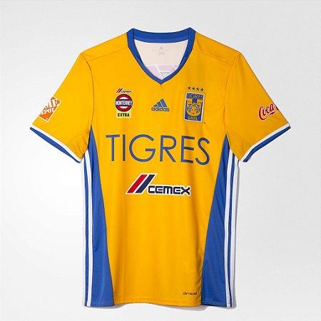 Camisa oficial Adidas Tigres UANL 2016 2017 I jogador