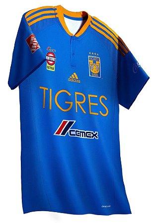 Camisa oficial Adidas Tigres UANL 2016 2017 II jogador