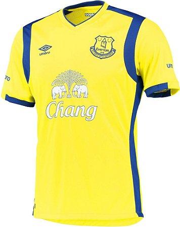 Camisa oficial Umbro Everton 2016 2017 III jogador