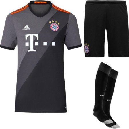 kit oficial adulto adidas Bayern de Munique 2016 2017 II jogador