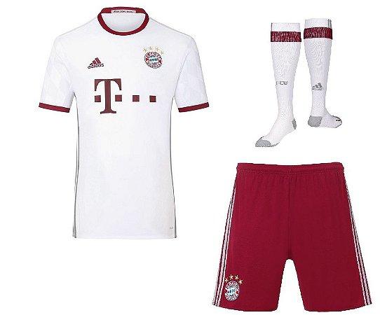 kit oficial adulto adidas Bayern de Munique 2016 2017 III jogador