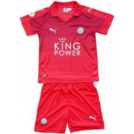 Kit oficial infantil Puma Leicester City 2016 2017 II jogador