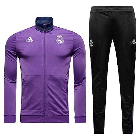 Kit treinamento oficial Adidas Real Madrid 2016 2017 II jogador