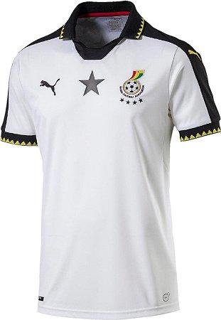 Camisa oficial Puma seleção de Gana 2017 I jogador