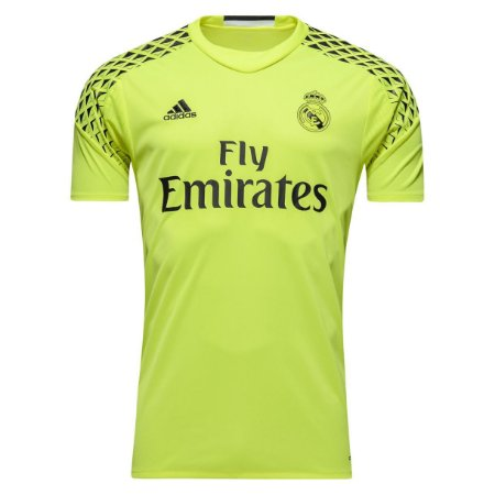 Camisa oficial Adidas Real Madrid 2016 2017 II Goleiro