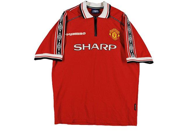 Camisa retro umbro Manchester United 1998 1999