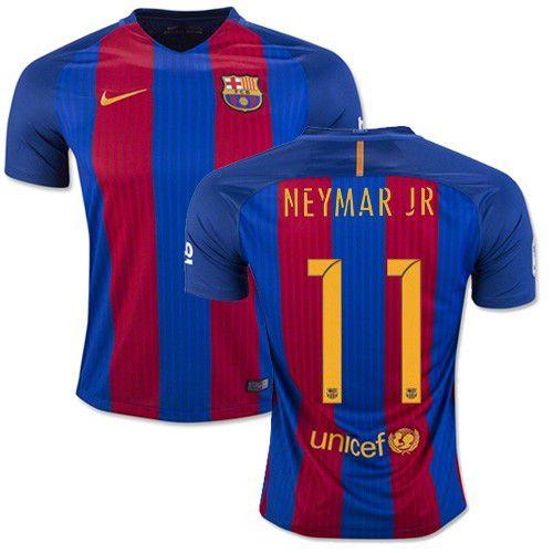 Camisa oficial Nike Barcelona 2016 2017 I jogador 11 Neymar