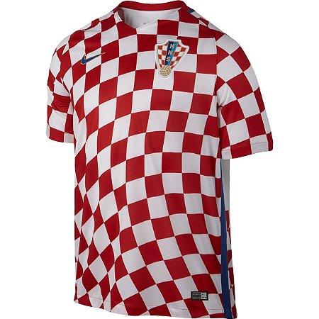 Camisa oficial Nike seleção da Croacia Euro 2016 I jogador Pronta entrega