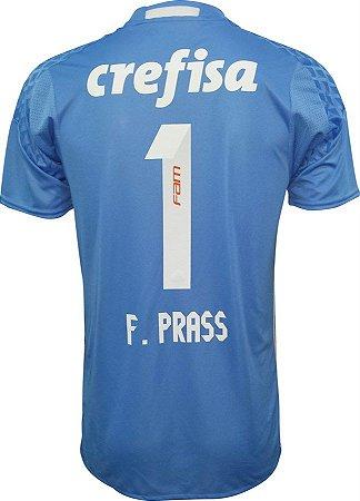 Camisa oficial Adidas Palmeiras 2016 Fernando Prass Pronta entrega