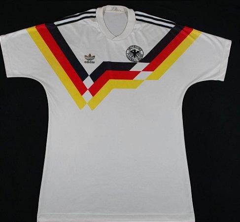 Camisa Adidas retro Seleção da Alemanha Euro 1988