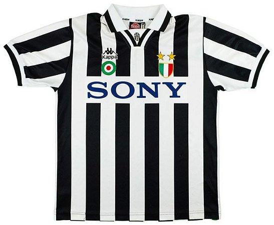 Camisa Kappa retro Juventus 1995 1996