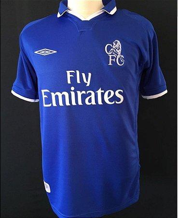 Camisa Retro Umbro Chelsea 2001 2002