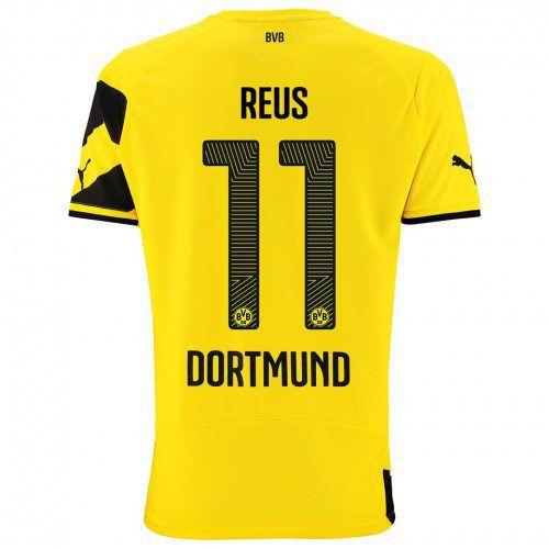 Camisa oficial Puma Borussia Dortmund 2014 2015 I jogador 11 Reus pronta entrega
