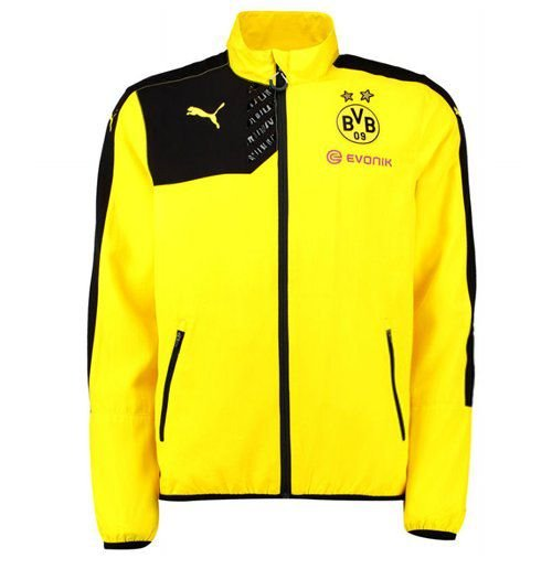 Jaqueta oficial Puma Borussia Dortmund 2014 2015 Pronta entrega