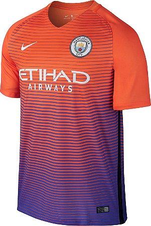 Camisa oficial Nike Manchester City 2016 2017 III jogador