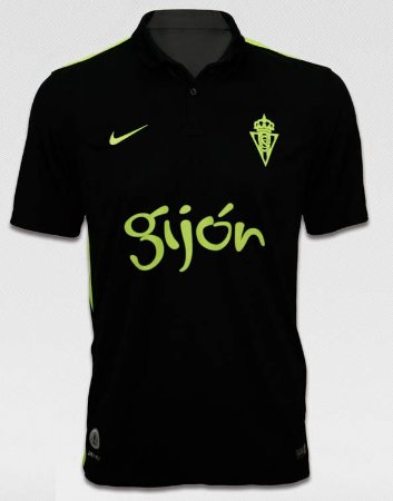 Camisa oficial Nike Sporting Gijon 2016 2017 II jogador