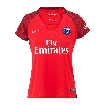 Camisa feminina oficial Nike PSG 2016 2017 II