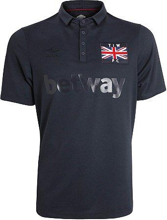 Camisa oficial Umbro West Ham Thames Ironworks 2016 2017 III jogador