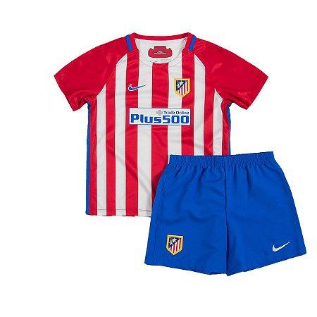 Kit oficial infantil Nike Atletico de Madrid 2016 2017 I jogador